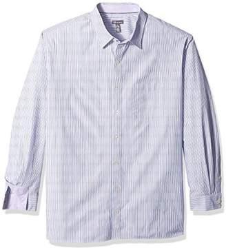 Van Heusen Men's Size Big Wrinkle Free Non Iron Long Sleeve Shirt
