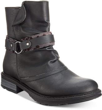 Easy Street Shoes Logan Moto Booties Women's Shoes