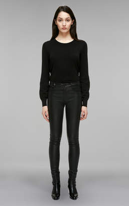 Mackage PEPPA FITTED STRETCH LEATHER PANTS