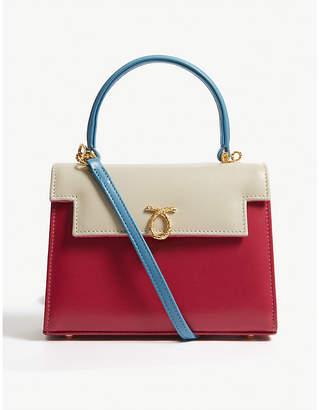 Launer Judi leather shoulder bag