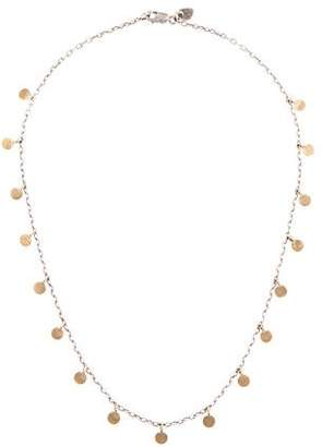 Me & Ro Me&Ro Two-Tone Multi Disc Chain Necklace