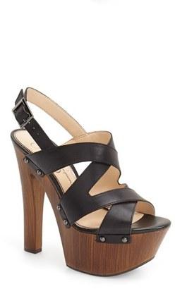 Women's Jessica Simpson 'Damelo' Platform Sandal $109.95 thestylecure.com