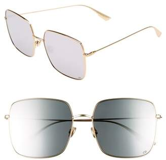 Christian Dior Stellaire 1 59mm Square Sunglasses