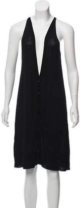Maison Margiela Sleeveless Sweater Dress