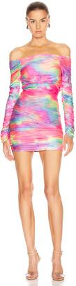 Sies Marjan Jolene Glitter Tie Dye Dress in Multicolor | FWRD