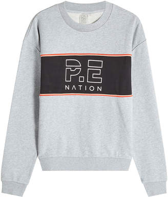 P.E Nation The Invictus Cotton Sweatshirt