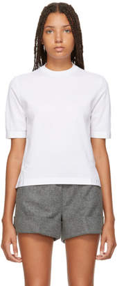 Thom Browne White Sheer Back Crewneck T-Shirt