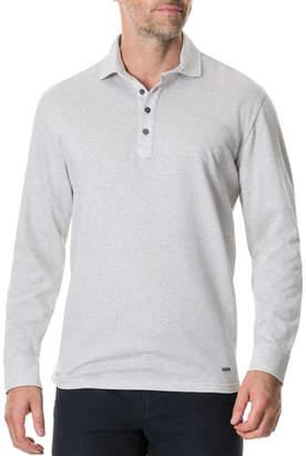 Rodd & Gunn Men's Wellpark Avenue Long-Sleeve Polo Shirt
