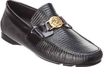 Versace Medusa Leather Loafer
