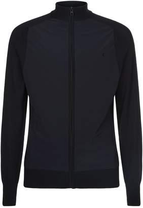 J. Lindeberg Knitted Hybrid Jacket