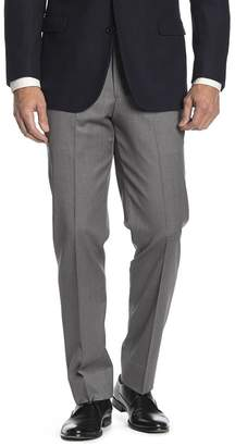 """Brooks Brothers Light Grey Sharkskin Regent Fit Suit Separates Trousers - 30-34\"""" Inseam"""