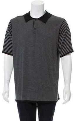 Barneys New York Barney's New York Striped Polo Shirt w/ Tags