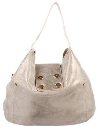 Marc Jacobs Metallic Nubuck Hobo
