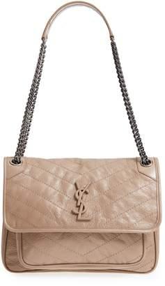 Saint Laurent Medium Niki Leather Shoulder Bag b79b973f6cf29