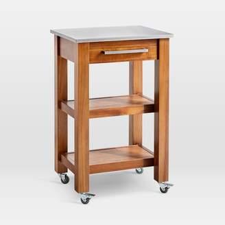 west elm Rustic Kitchen Cart