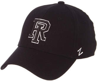 Zephyr Rhode Island Rams Black/White Stretch Cap
