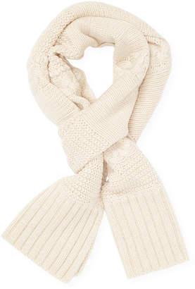 UGG Wool Blend Cableknit Rectangular Scarf