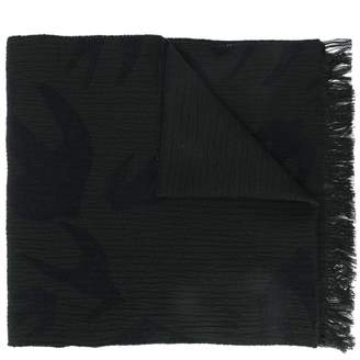 McQ Swallow Cut Up scarf