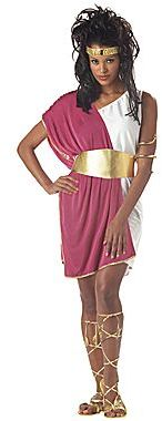JCPenney Asstd National Brand Toga Women's Plus Costume