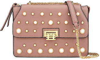 Florian London Mini Vienna Pearl Leather Crossbody