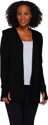 Cee Bee Cheryl Burke cee bee CHERYL BURKE Open Front French Terry Jacket with Hood