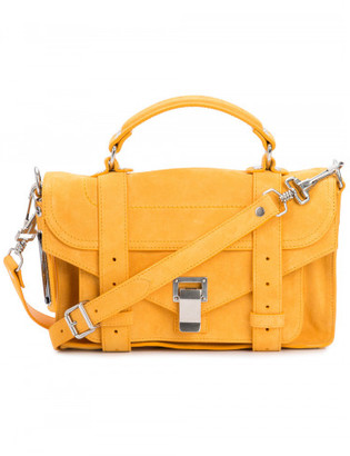 Proenza Schouler mini PS1 satchel $1,550 thestylecure.com