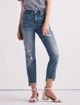 Lucky Brand HIGH RISE TOMBOY JEAN IN SAFFORD STEP HEM