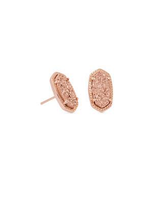 Kendra Scott Ellie Stud Earrings in Rose Gold