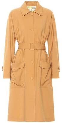 Golden Goose Amanda wool trench coat