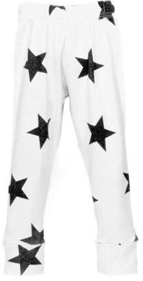 NUNUNU - Star Leggings - White