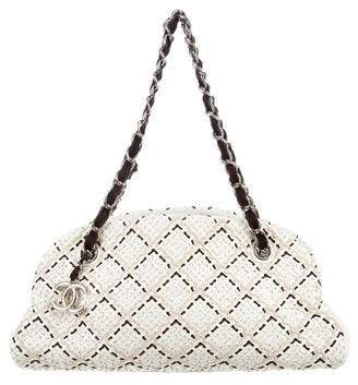 Chanel Just Mademoiselle Stitch Bowling Bag