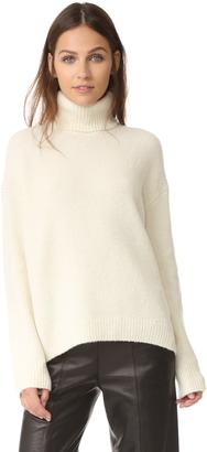 Vince Turtleneck Sweater $375 thestylecure.com
