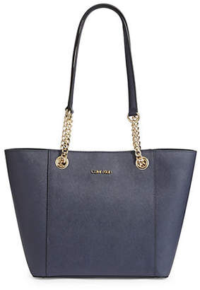 Calvin Klein Hayden Leather Shoulder Bag