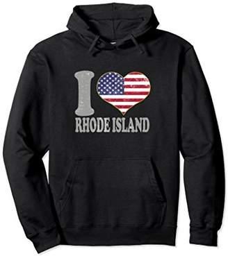 Rhode Island Hooded Sweatshirt Clothing State Pride Newport