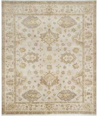 """Darby Home Co One-of-a-Kind Ammerman Hand-Knotted 8'2"""" x 9'10"""" Wool Light Gray Area Rug Darby Home Co"""