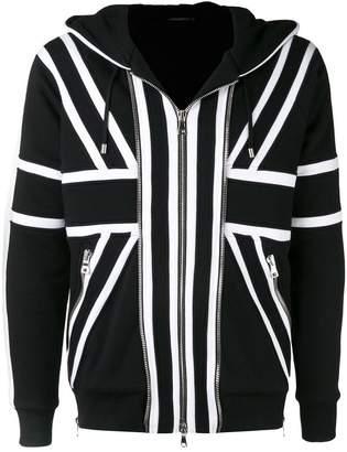 Balmain Union Jack hoodie