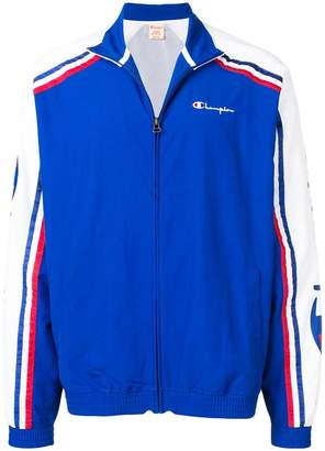 Champion contrast sleeves sports jacket