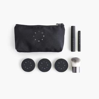 """J.Crew Stowaway Cosmetics for Fit in a Workout"""" kit"""