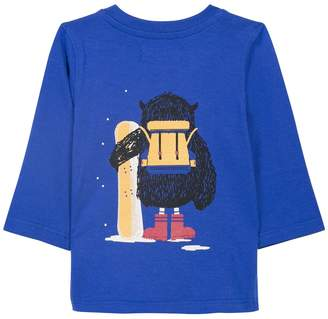 Jean Bourget Owl Backpack Tee