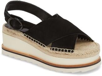 Marc Fisher Glenna Platform Slingback Sandal