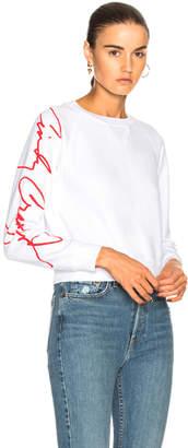 RE/DONE Cindy Crawford Classic Sweatshirt