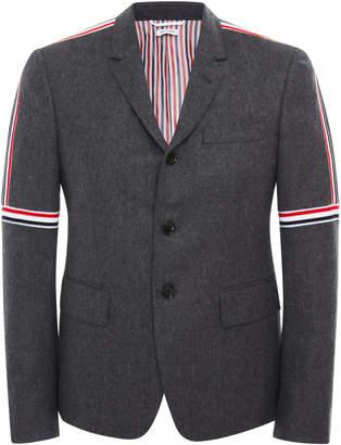 Thom Browne Striped Slim-Fit Wool Blazer