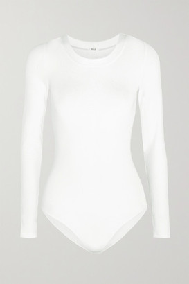 Wolford Berlin Stretch-jersey Bodysuit - White