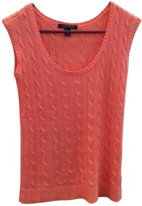 Lauren Ralph Lauren Orange Cotton Knitwear for Women