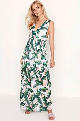 c0859eaad Girls On Film Outlet White Floral Maxi Dress