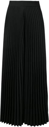 MSGM wide pleated trousers