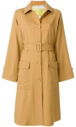 Golden Goose flared trench coat