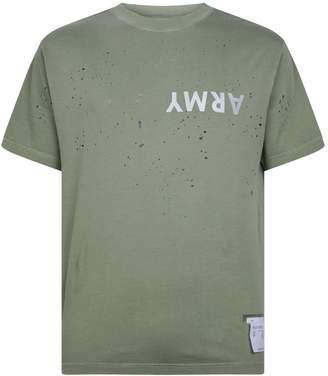 Satisfy Moth-Eaten Cotton T-Shirt