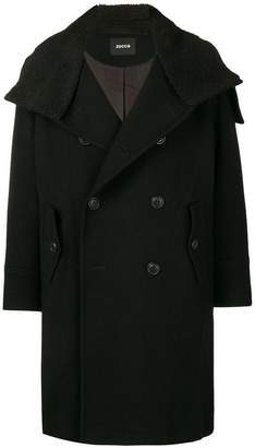 Zucca teddy collar coat