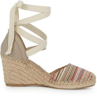 Sam Edelman Patsy Lace-Up Espadrille Wedge